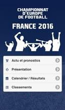 Application EURO 2016